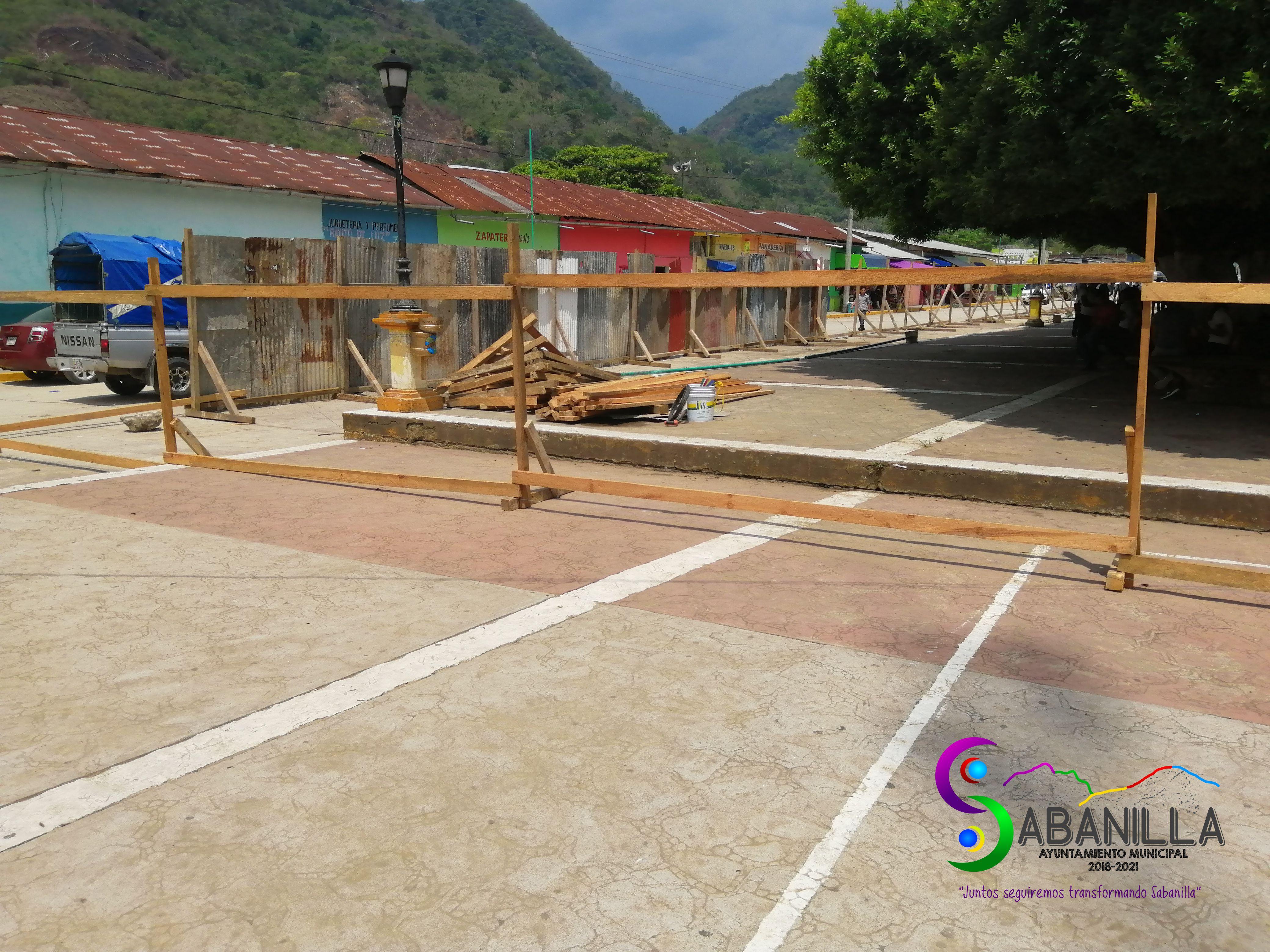 Rehabilitación del Parque Central Sabanilla